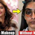 20 Bollywood Actresses Shocking Without Makeup Look   You ..