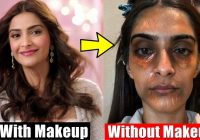 20 Bollywood Actresses Shocking Without Makeup Look | You ..