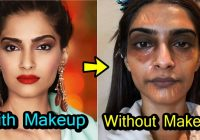 20 Shocking Looks of Bollywood Actress Without Makeup ..