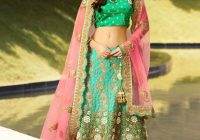 2016 latest Pakistani bridal lenghas buying online, Green ..