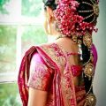 29 Amazing Pics of South Indian Bridal Hairstyles for Weddings – indian bridal hairstyle