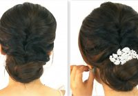 30 Elegant Bridal Updo Hairstyles – Indian Beauty Tips – indian bridal updo hairstyles