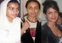 30 Strange Pictures Of Bollywood Actresses Without Make Up ..