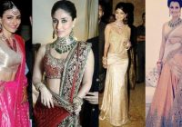 5 Bollywood Actresses Reception Look | Indian Fashion Mantra – elaborate look for bollywood wedding