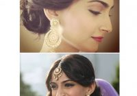 5 Pulled back wedding hairstyles | Exploring Indian ..