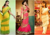 7 Charming Saree Draping Styles for Party ..