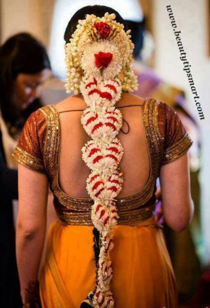 Permalink to Indian Bridal Hairstyle Photos