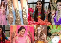 8 Bollywood Divas & Their Bridal Mehndi Designs | Anushka ..