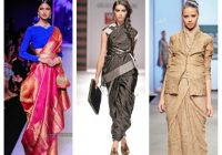 85 Modern Saree Draping Styles || How To Wear Saree In An ..