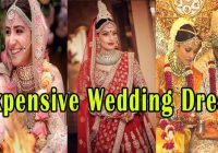 9 Beautiful Expensive Wedding Dresses Of Bollywood ..