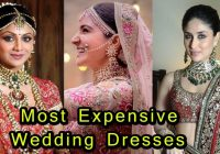 9 Most Expensive Wedding Dresses Of Bollywood Actress ..