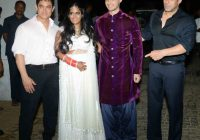 Aamir Khan at Salman Sister Arpita Marriage | Bollywood ..