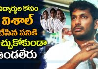 Actor Vishal Charity Work | TOLLYWOOD Actor Vishal's ..