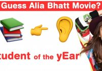 Alia Bhatt Emoji Challenge! Guess Bollywood Movies – YouTube – latest bollywood movies quiz with answers