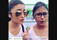 Alia Bhatt – Funny Video – Latest Bollywood Dubsmash ..