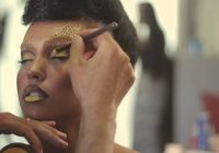 All About Yellow – Behind the scenes – by the makeup ..