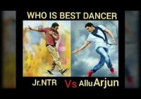 Allu arjun vs jr ntr dance || who is the best dancer in ..