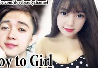 AMAZING BEST MAKEUP TRANSFORMATION BOY TO GIRL LOVELY ..