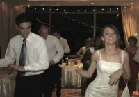 American bride & groom dancing to Bollywood song at their ..