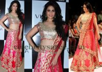Anjana Sukhani Bridal Lehenga – Saree Blouse Patterns – bollywood actress wedding lehengas