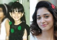 Anushka childhood photos,Samantha childhood photo,Thammana ..