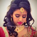 Ashwini looks like a diva for her reception in a bridal ..