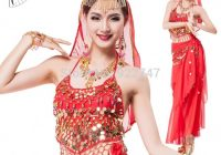 Belly Dance Performance Costume for Women Bollywood Dance ..
