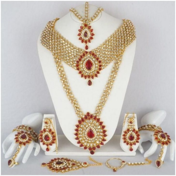 Permalink to Indian Bollywood Bridal Jewellery Set