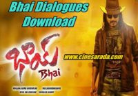 Bhai Dialogues Mp3 Download, Nagarjuna Bhai Movie ..