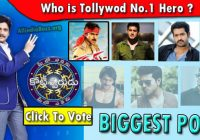 Biggest Poll : Vote For Tollywood No1 Top Hero ..