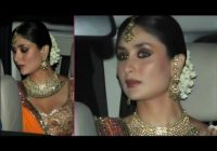 Bollywood Actress Kareena Kapoor's Bridal Makeup ..