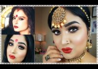 Bollywood Actress Rekha Inspired Full Face Makeup Tutorial ..