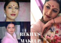 BOLLYWOOD ACTRESS REKHA MAKEUP TUTORIAL | DECODING 80'S ..