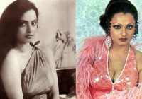 Bollywood Actress Rekha Teenage Photos | Rekha's Under 19 ..