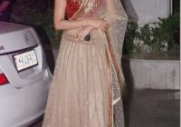 Bollywood Actress Saree Collections: Embroidery Lehenga Sarre – bollywood lehenga saree
