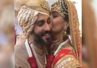 Bollywood actress sonam kapoor Anand Ahuja wedding day ..