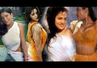 Bollywood Actresses HOT Rain Dance In Wet Transparent ..
