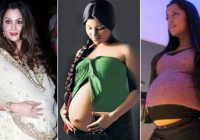 Bollywood actresses PREGNANT before MARRIAGE | Shocking ..