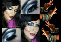 BOLLYWOOD / BELLY DANCE Makeup for HALLOWEEN – YouTube – bollywood dance makeup