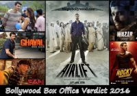 Bollywood Box Office Collection Report 2016, Verdict ..