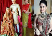 Bollywood Brides who did not wear Red on their Weddings ..