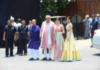 Bollywood Celebrities At Sonam Kapoor Marriage Photos ..