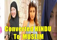 Bollywood Celebrities You didn't know Converted To Muslim ..