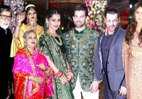 Bollywood Celebs Neil Nitin Mukesh WEDDING Reception 2017 ..
