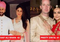 Bollywood Celebs Who Married After 40 – Must Check Couple ..