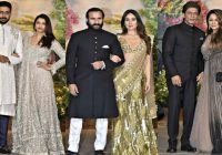 Bollywood Couples At Sonam Kapoor Wedding Reception – YouTube – bollywood wedding reception