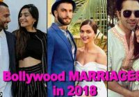 Bollywood couples getting MARRIED in 2018 – newsR VIDEO – bollywood marriage video
