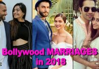 Bollywood couples getting MARRIED in 2018 – One News Page ..