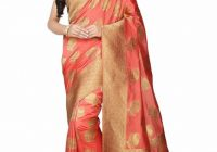 Bollywood Designer Kanjivaram Saree Indian Silk ..