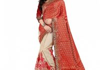 Bollywood Gallery Red Silk Saree – Buy Bollywood Gallery ..